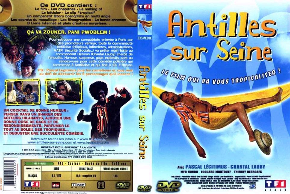 Jaquette DVD Antilles sur seine