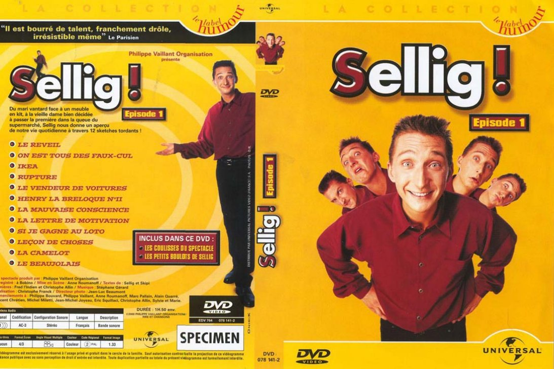 Jaquette DVD Sellig !