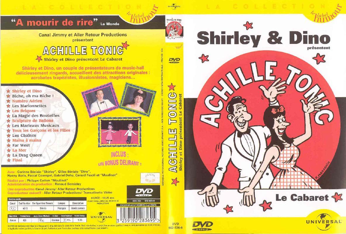Jaquette DVD Achille Tonic