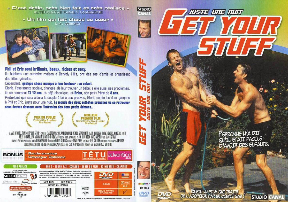 Jaquette DVD Get your stuff