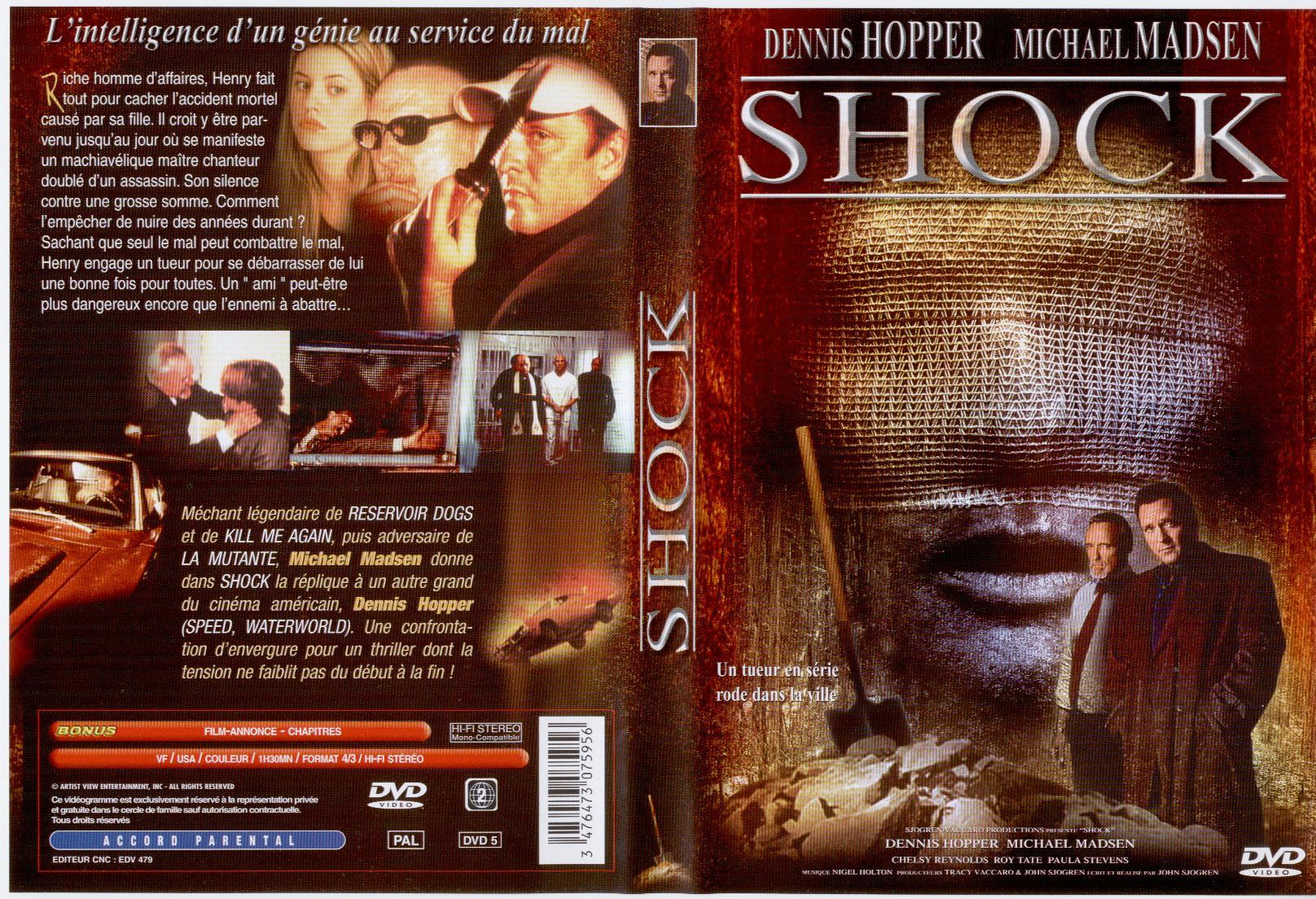Jaquette DVD Shock