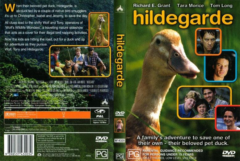 Jaquette DVD Hildegarde