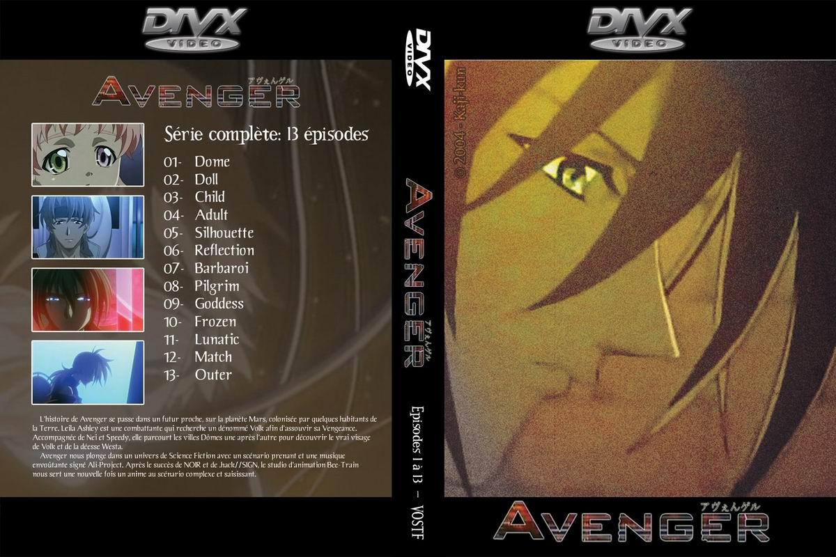 Jaquette DVD Avenger