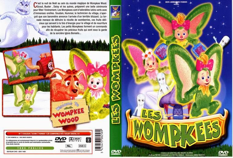 Jaquette DVD Les wompkees
