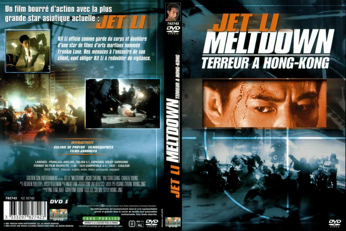 Jaquette DVD Meltdown